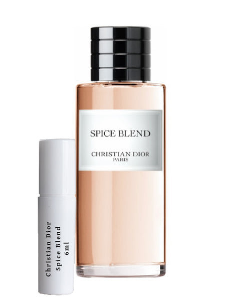 Christian DIOR Spice Blend samples 6ml