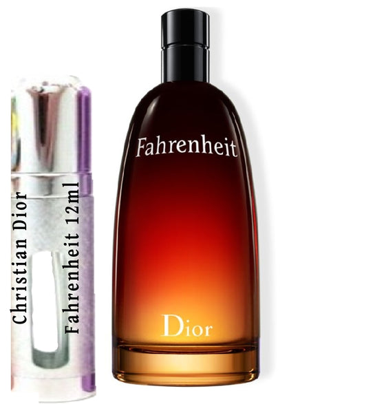 Christian Dior Fahrenheit samples 12ml