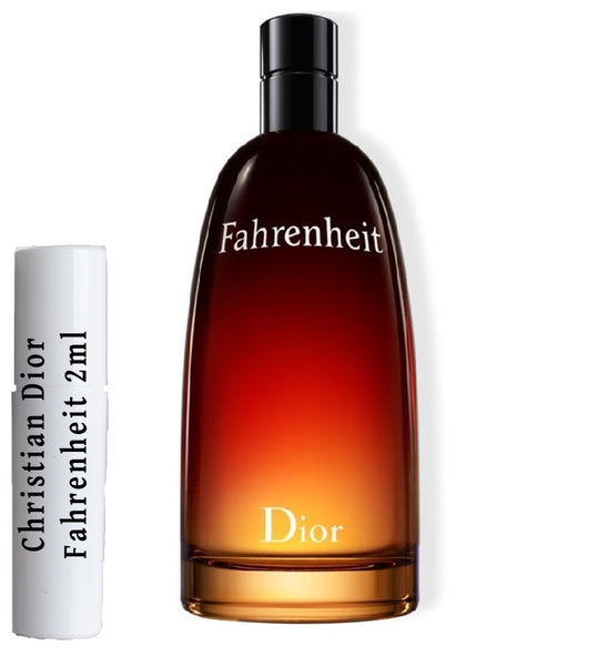Christian Dior Fahrenheit samples 2ml