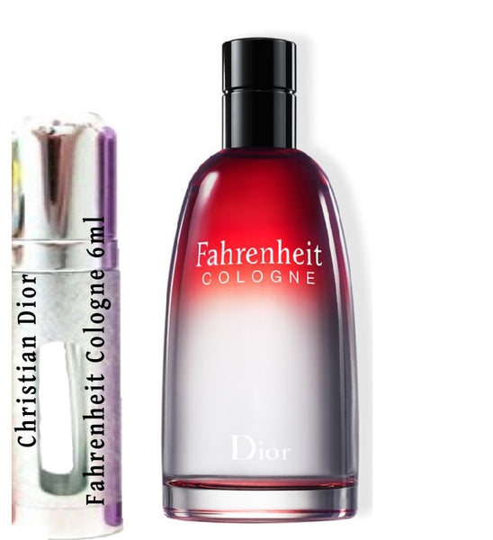 Christian Dior Fahrenheit Cologne Samples 6ml