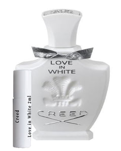 Creed Love in White échantillons 2ml