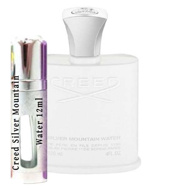 Creed Silver Mountain Water samples 12ml