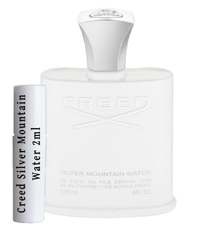 Creed Silver Mountain Water samples 2ml