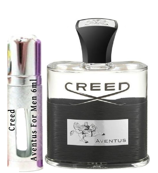 Creed Aventus For Men samples - lot C4219U01 6ml 0.21 oz
