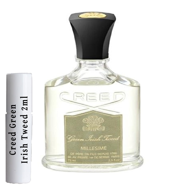 Creed Green Irish Tweed Vzorky 2 ml
