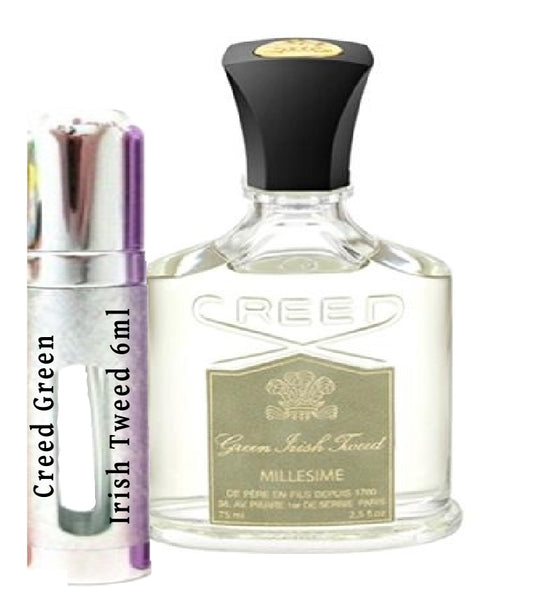 Creed Green Irish Tweed samples 6ml
