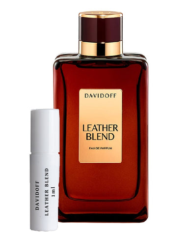 DAVIDOFF LEATHER BLEND vial 1ml