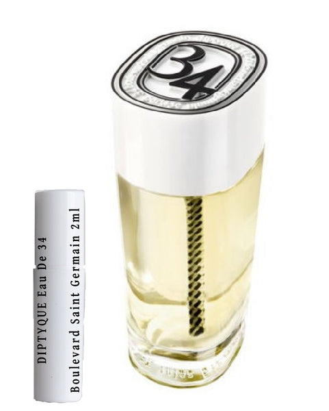 DIPTYQUE Eau De 34 Boulevard Saint Germain samples 2ml