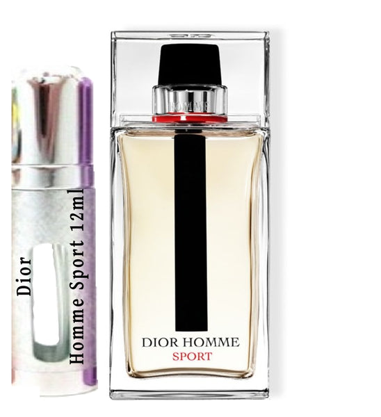 Dior Homme Sport samples 12ml