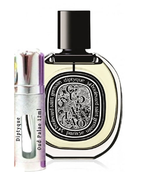 Diptyque Oud Palao samples 12ml