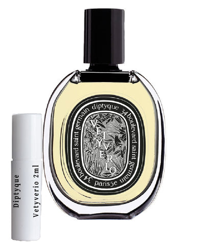 Diptyque Vetyverio samples 2ml