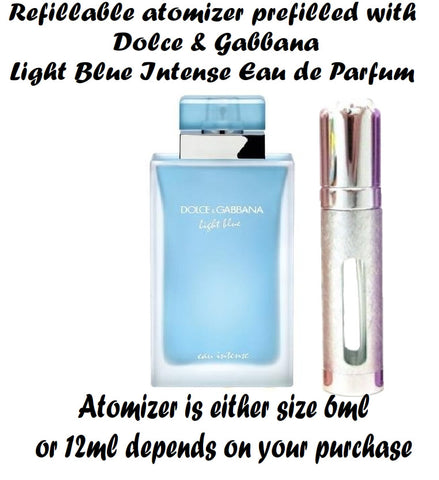 Dolce and Gabbana LIGHT BLUE EAU INTENSE samples