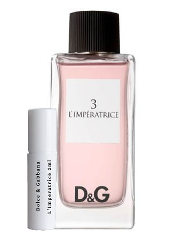 Dolce and Gabbana 3 l'imperatrice sample 2ml