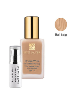 Estee Lauder Double Wear Foundation samples Shade Shell Beige 4N1 5ml