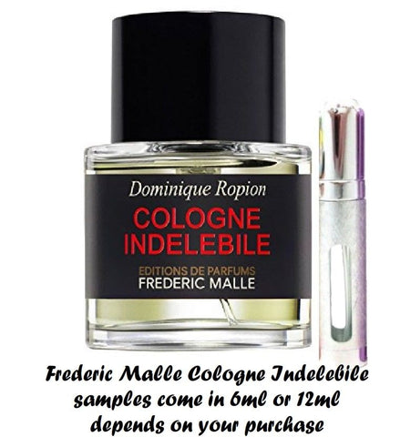 Frederic Malle COLOGNE INDELEBILE Samples