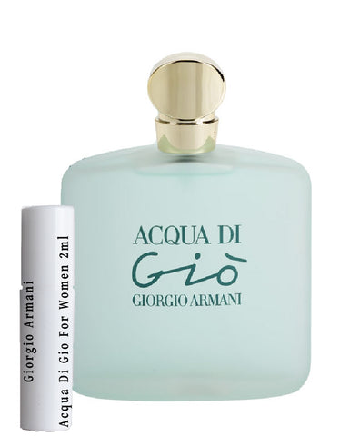 Giorgio Armani Acqua Di Gio For Women samples 2ml