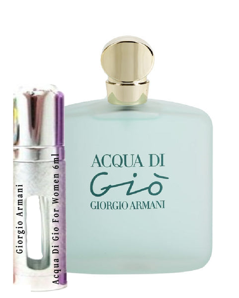 Giorgio Armani Acqua Di Gio For Women samples 6ml