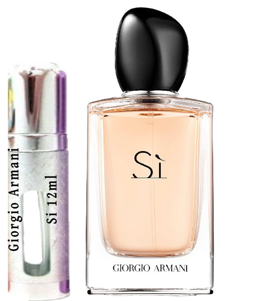 Giorgio Armani Si samples 12ml