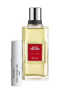 Guerlain Habit Rouge sample 2ml