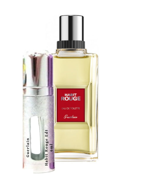 Guerlain Habit Rouge samples 6ml