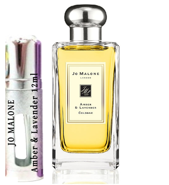 JO MALONE Amber & Lavender samples 12ml
