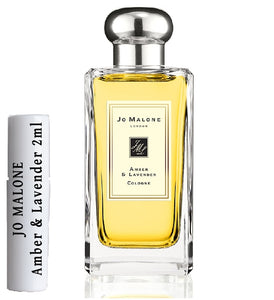 JO MALONE Amber & Lavender samples 2ml