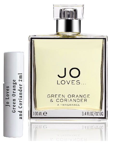 Jo Loves Green Orange a vzorek koriandru 2 ml
