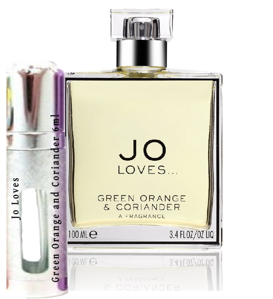 Jo Loves Green Orange and Coriander sample 6ml