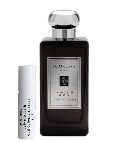 Jo Malone Velvet Rose & Oud Cologne Intense sample vial spray 1ml