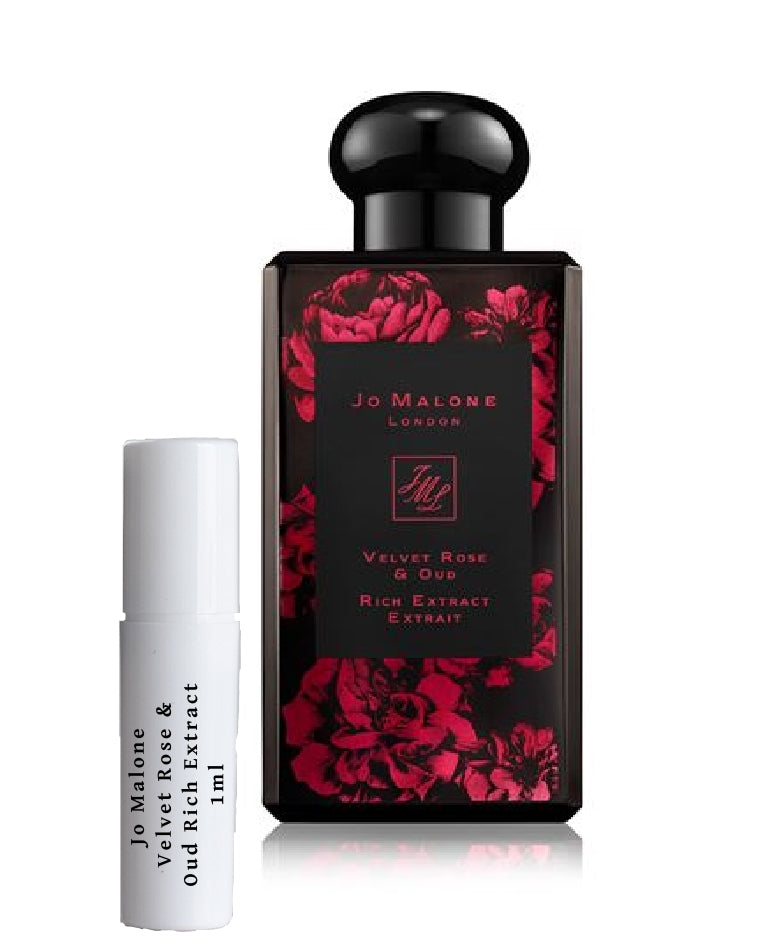 Jo Malone Velvet Rose & Oud Rich Extract sample vial spray 1ml