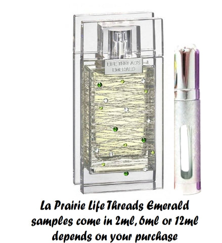 La Prairie Life Threads Emerald Samples