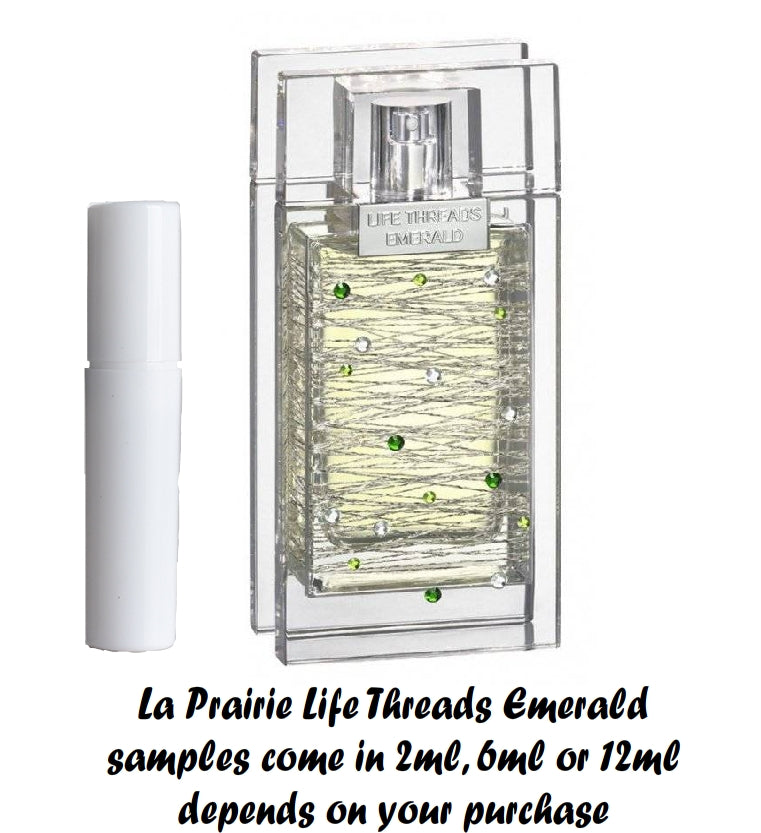 La Prairie Life Threads Emerald Sample 2ml