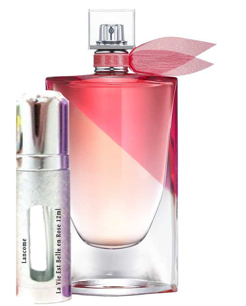 Lancome La Vie Est Belle en Rose samples 12ml