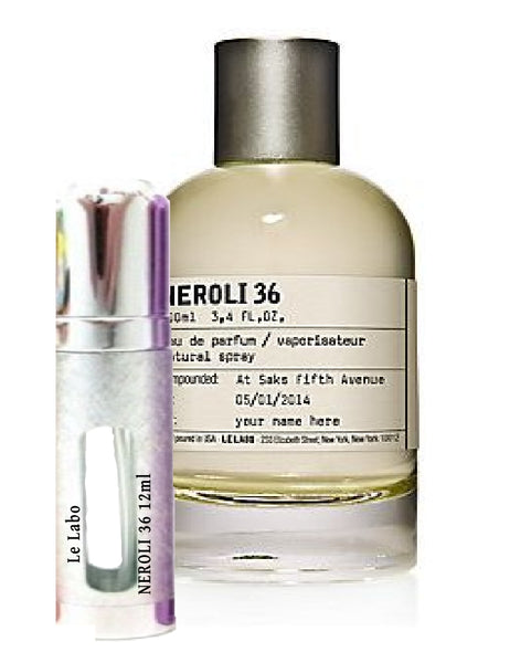 Le Labo NEROLI 36 samples 12ml