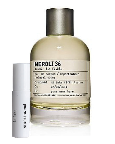 Le Labo NEROLI 36 samples 2ml