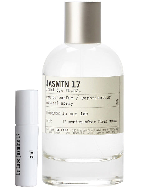 Le Labo Jasmine 17 samples 2ml