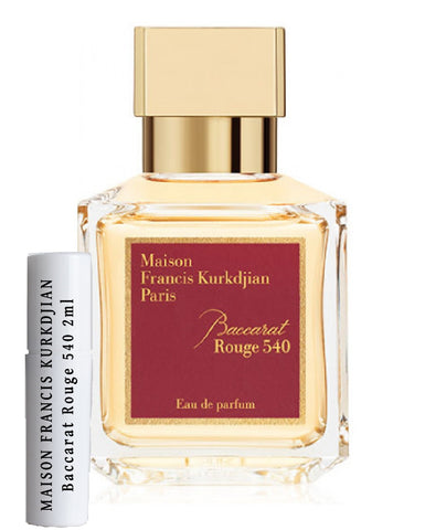 MAISON FRANCIS KURKDJIAN Baccarat Rouge 540 samples 2ml