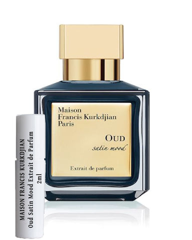 MAISON FRANCIS KURKDJIAN Oud Satin Mood samples Extrait de Parfum 2ml
