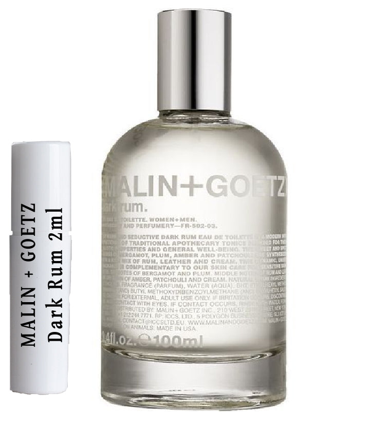 MALIN + GOETZ Dark Rum samples 2ml