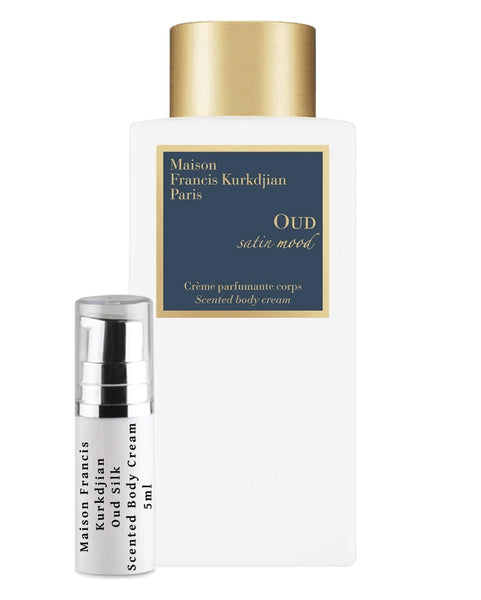 Maison Francis Kurkdjian Oud Silk Scented Body Cream sample 5ml travel spray