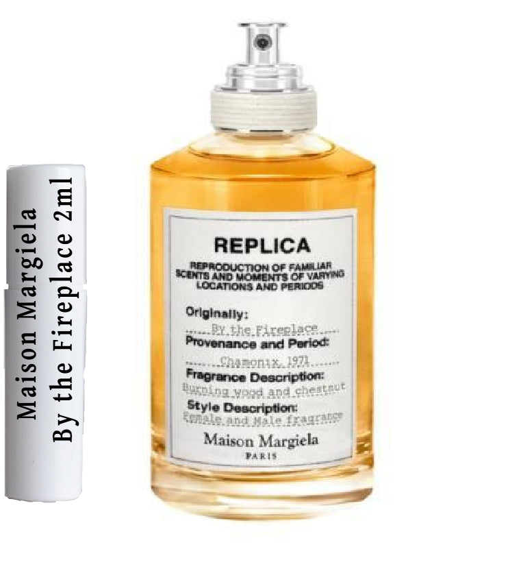 Maison Margiela By the Fireplace samples 2ml