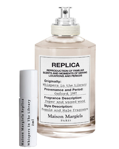 Maison Margiela Replica Whispers In The Library sample 2ml