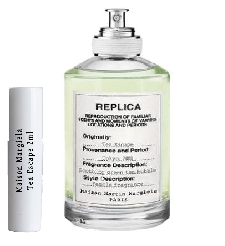 Maison Margiela Tea Escape samples 2ml