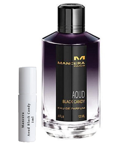 Mancera Aoud Black Candy sample vial spray 1ml