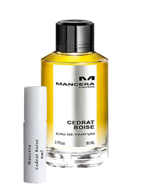 Mancera Cedrat Boise samples 6ml