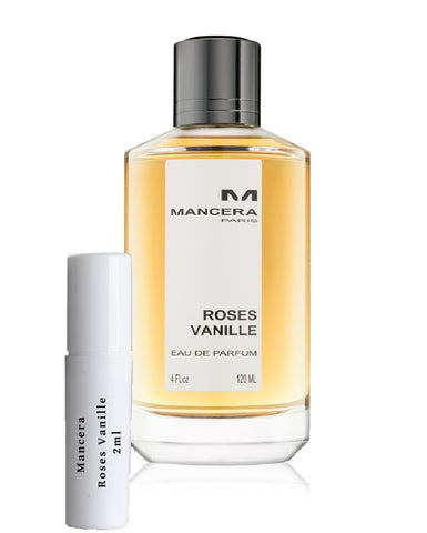 Mancera Roses Vanille sample 2ml