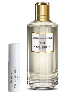 Mancera Vanille Exclusive sample vial spray 1ml