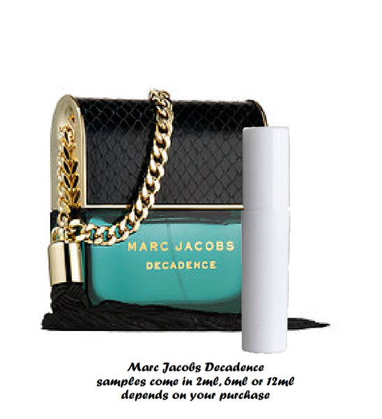 Marc Jacobs Decadence sample 2ml