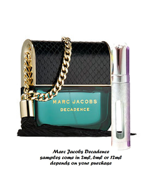 Marc Jacobs Decadence samples