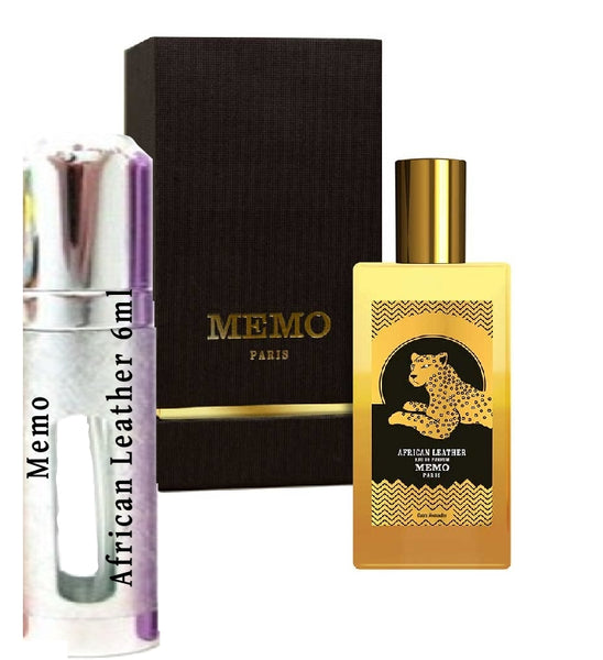 Memo African Leather samples 6ml